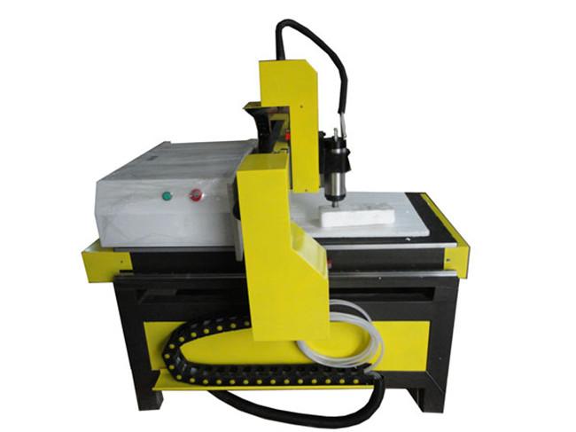 神绘SH-6090广告雕刻机胸牌标识牌小工艺品专用雕刻机(黄黑色)